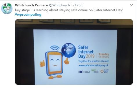 E Safety Whitchurch Primary School